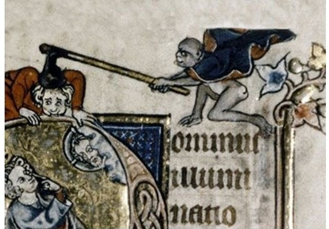 A very angry, axe-weilding, ape. (Source unknown)