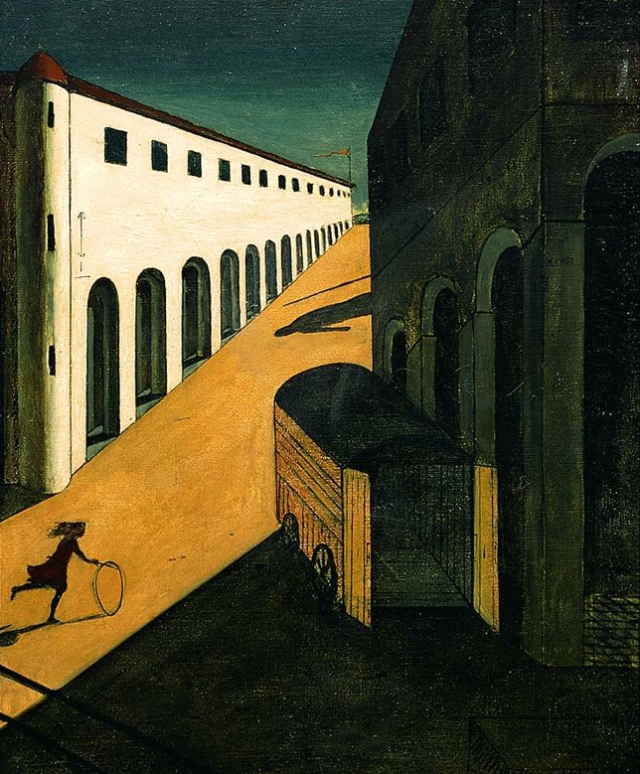 Mystery and Melancholy of a Street 1914