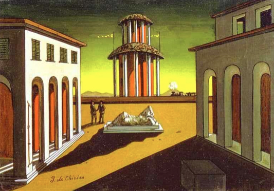 Image result for de chirico, landscapes