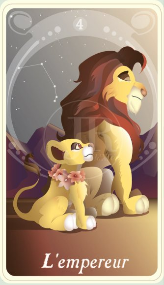 _the_princess_tarot___l_empereur__simba_and_kiara__by_suisei_ojii_sama-d85khao
