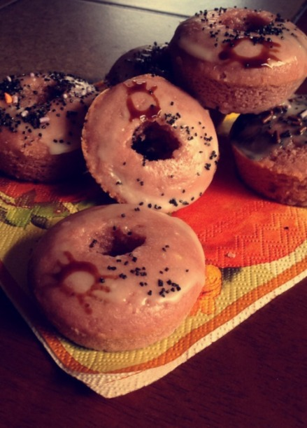 Spider Cider Doughnuts