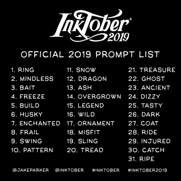 Image result for inktober prompt
